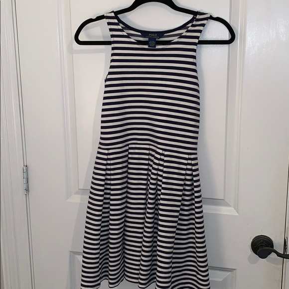 Polo by Ralph Lauren Other - Navy blue and white stripped dress.